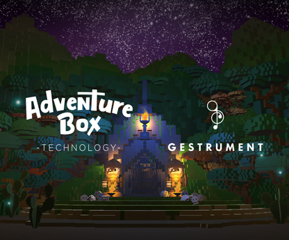 gestrument and adventure box create adaptive music in games